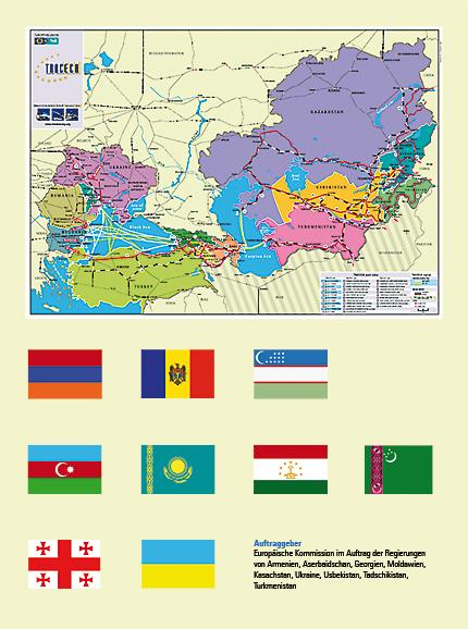 traceca_flags+map - Beschreibung